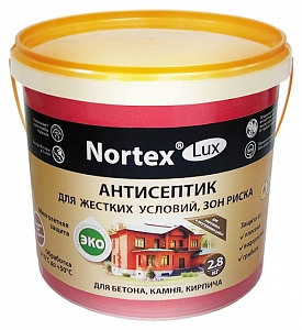 Антисептик Nortex®-Lux (НОРТЕКС®-ЛЮКС) для бетона (9кг) НОРТ